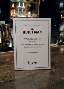 Other Luxco spirits served at the event