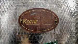 A Kothe plaque