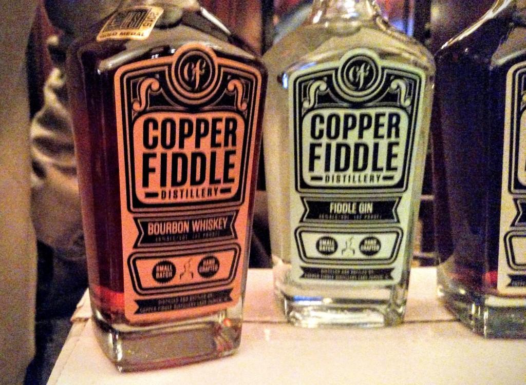 Copper Fiddle Bottles