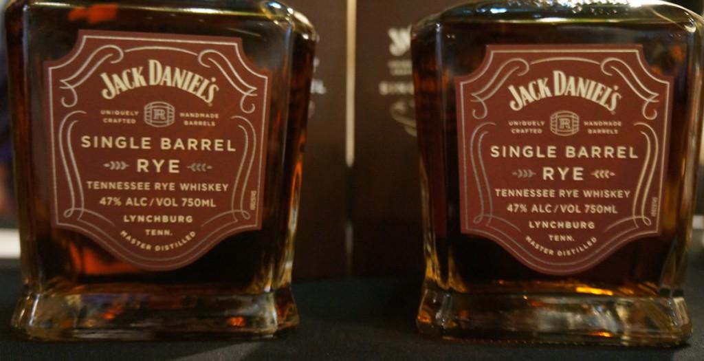 JD Single Barrel Rye