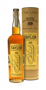 EH Taylor Seasoned Wood Bottle & Canister