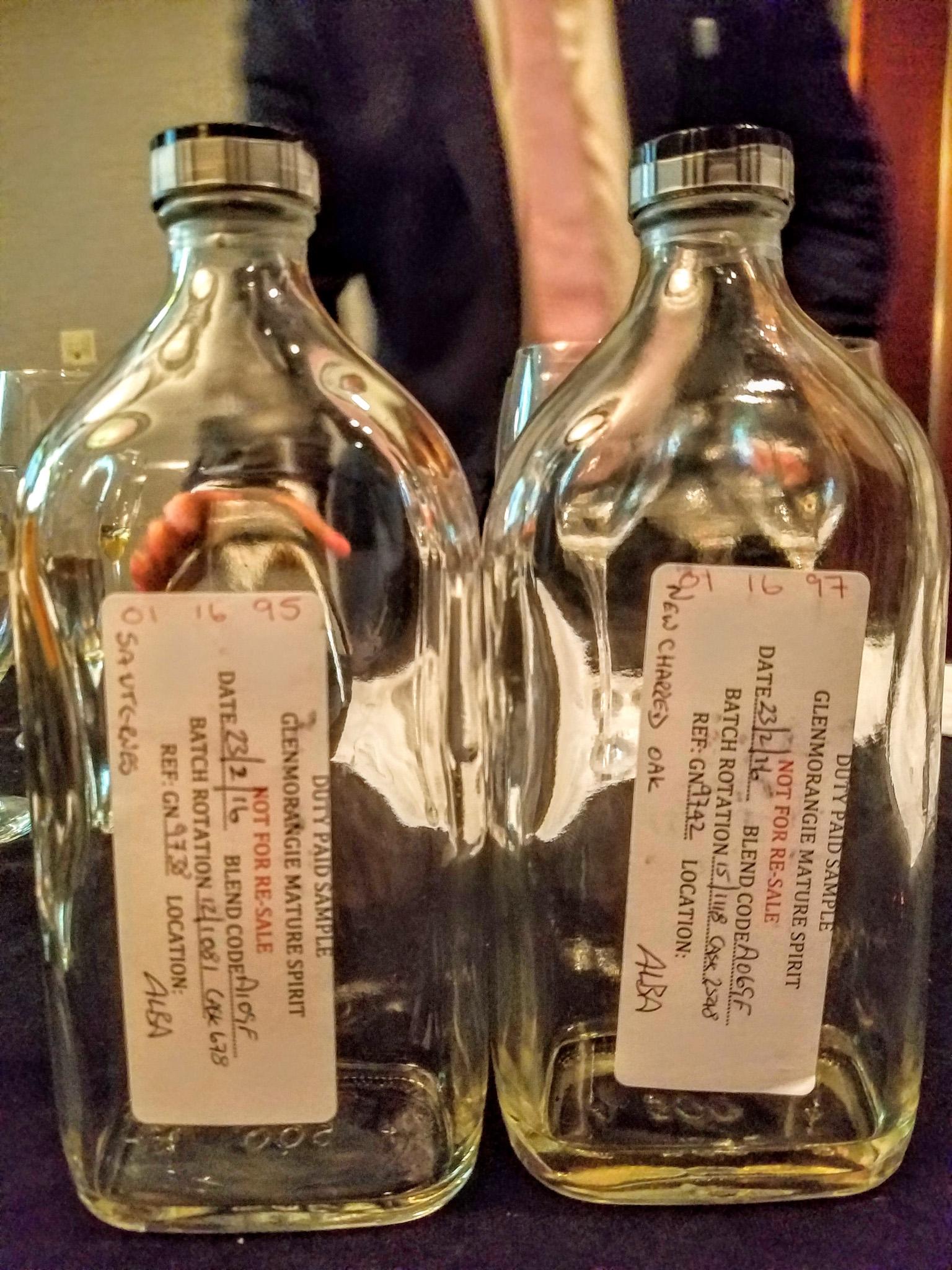Glenmorangie single cask samples