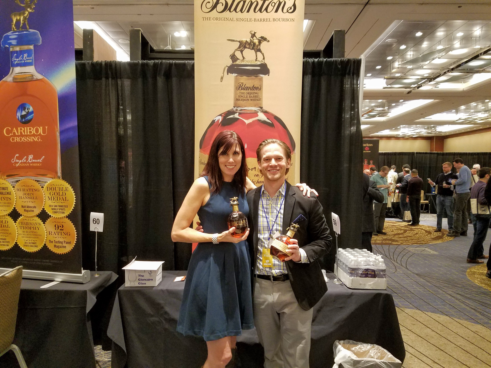 Buffalo Trace's Kim Gillespie & Chicago Bourbon's William Reigle