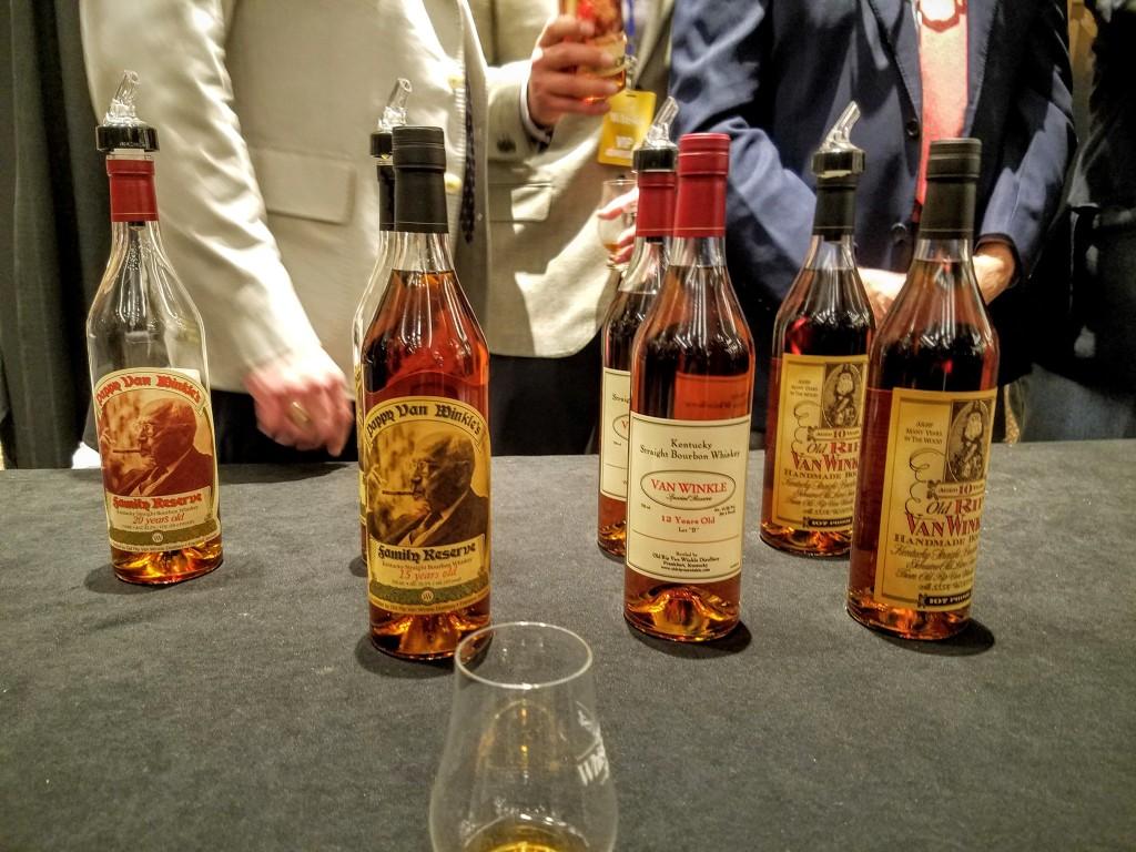 Pappy bottles