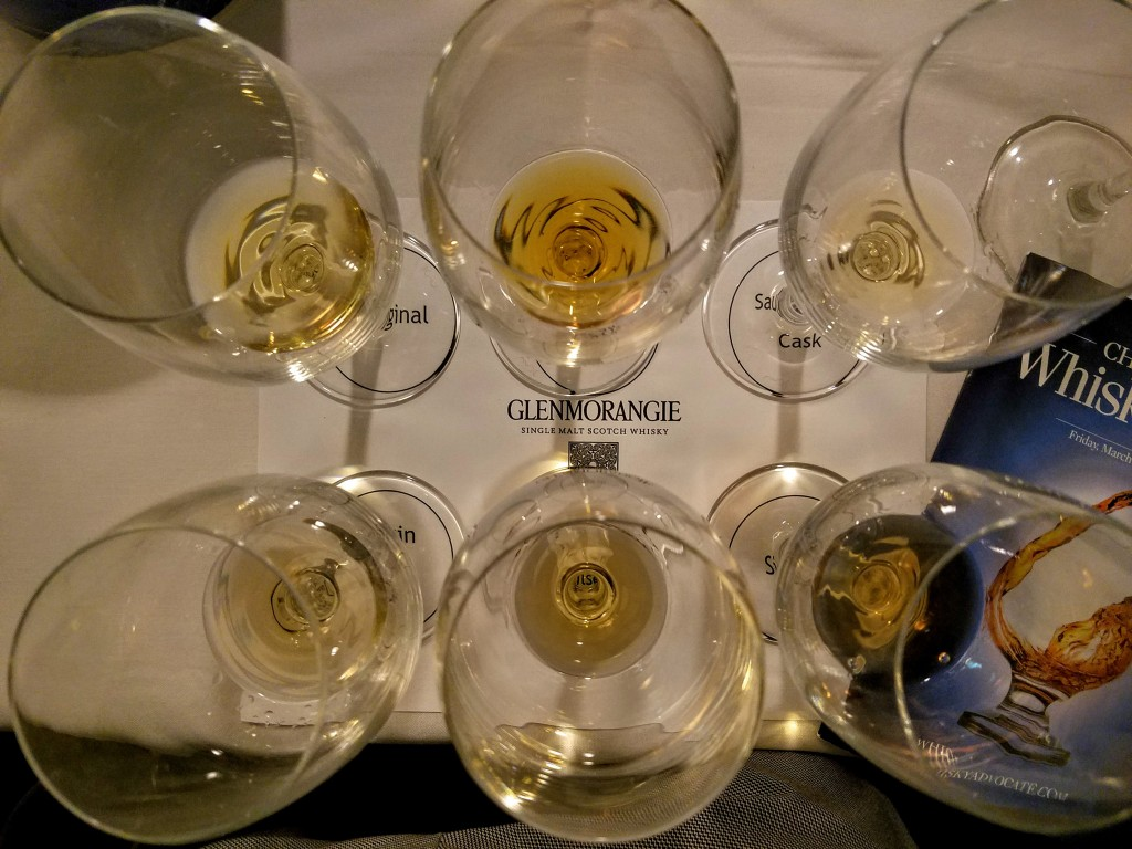 Glenmorangie samples