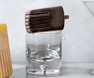Chocolate Bourbon Popsicle