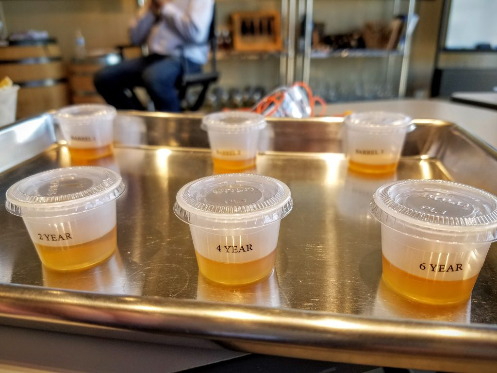 Year and barrel samples