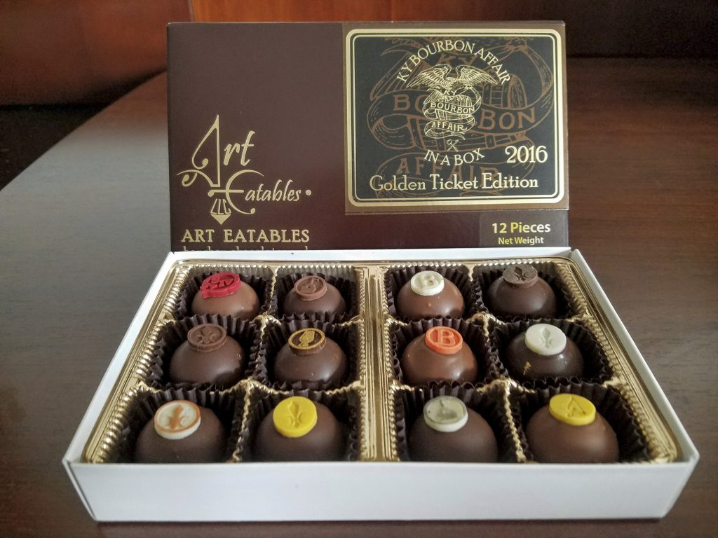 An example of the oh-so-good truffles from Art Eatables given to Golden Ticket holders.