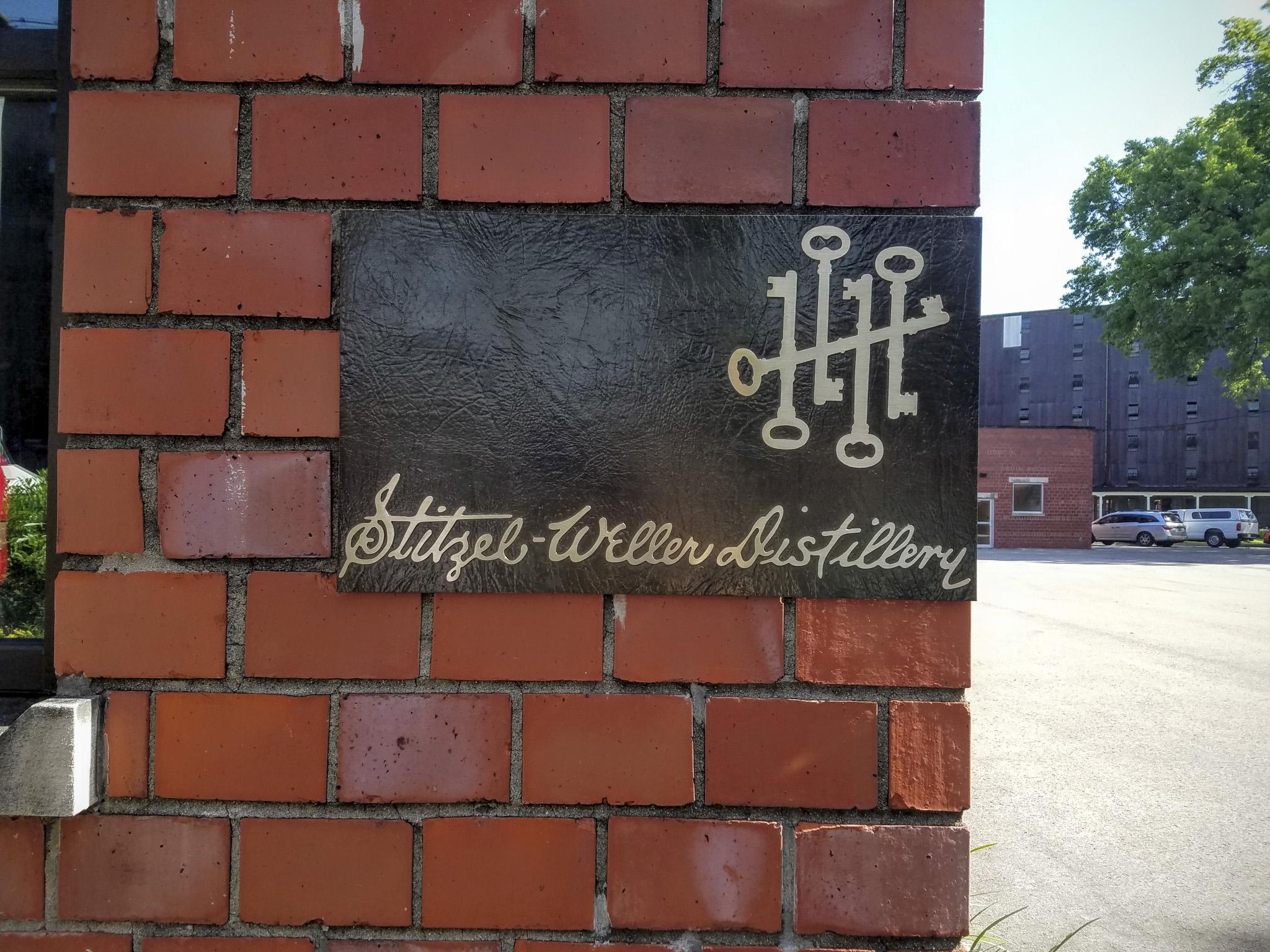 Stitzel-Weller Distillery sign