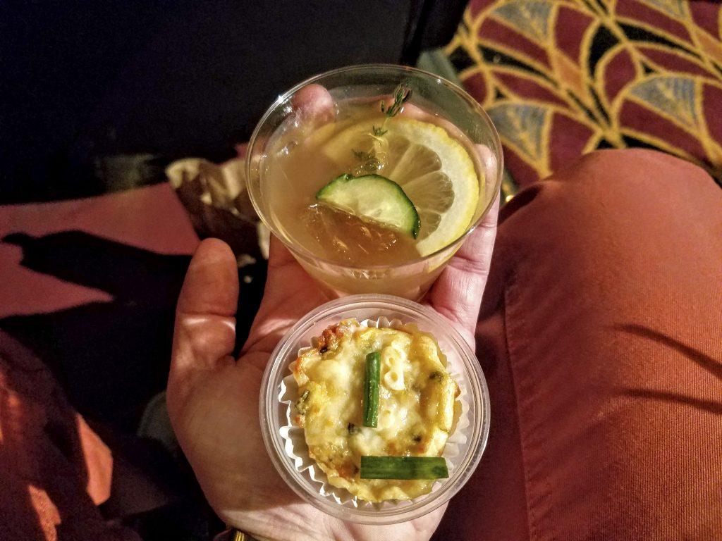 Cocktail and potato