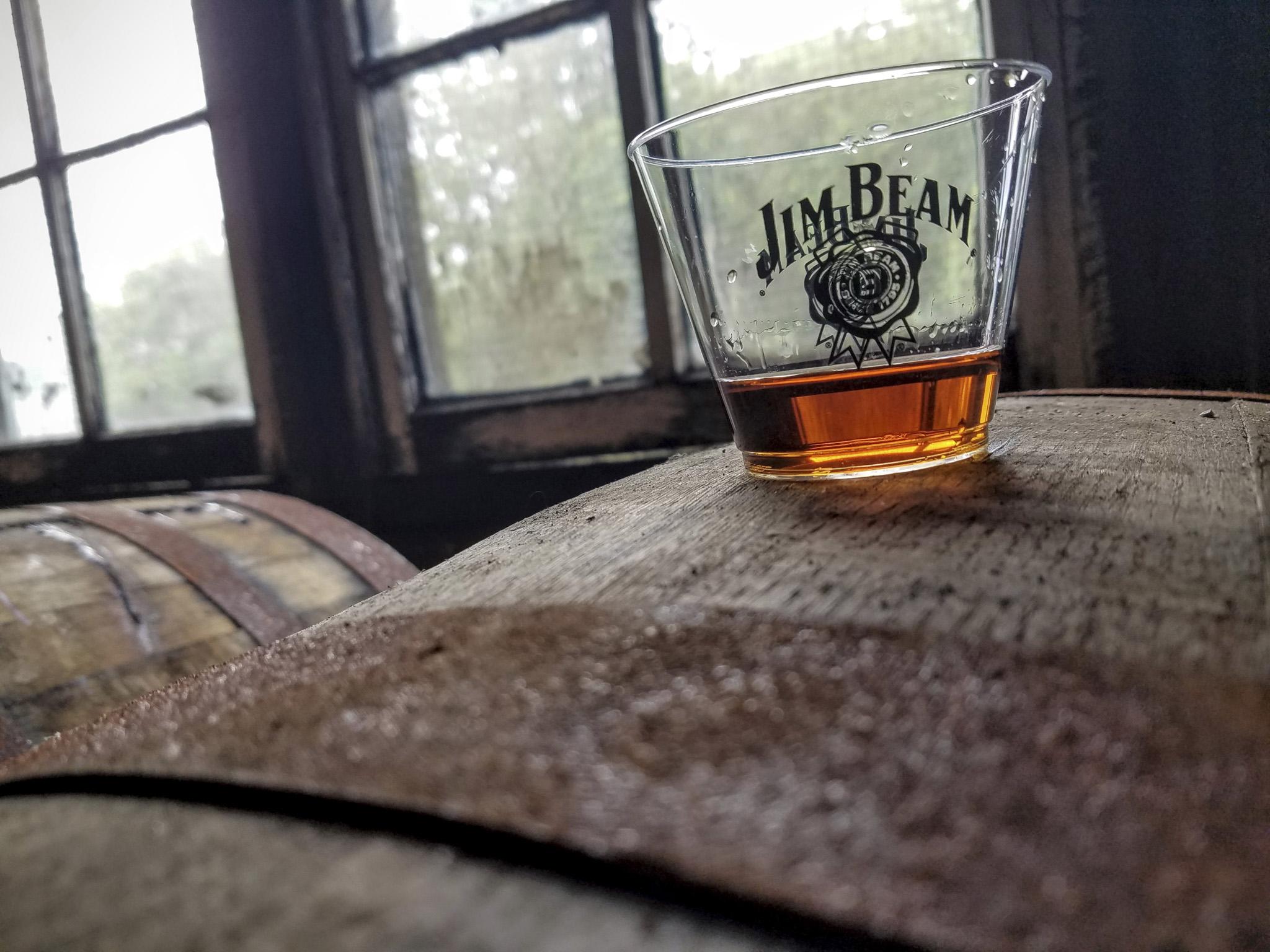 Jim Beam Barrel Sample