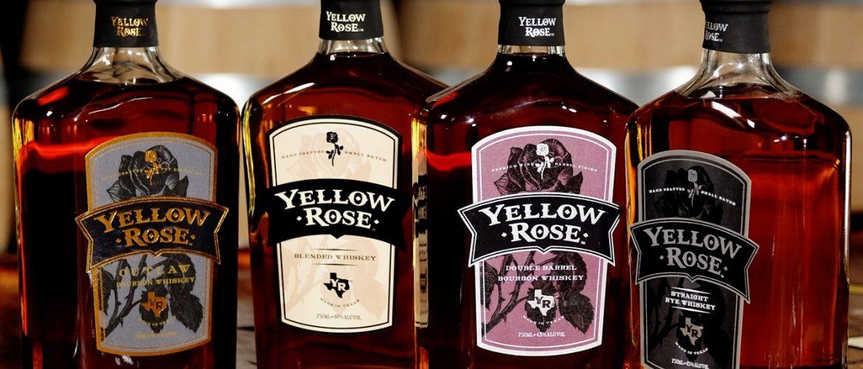 Yellow Rose Distilling Bottles