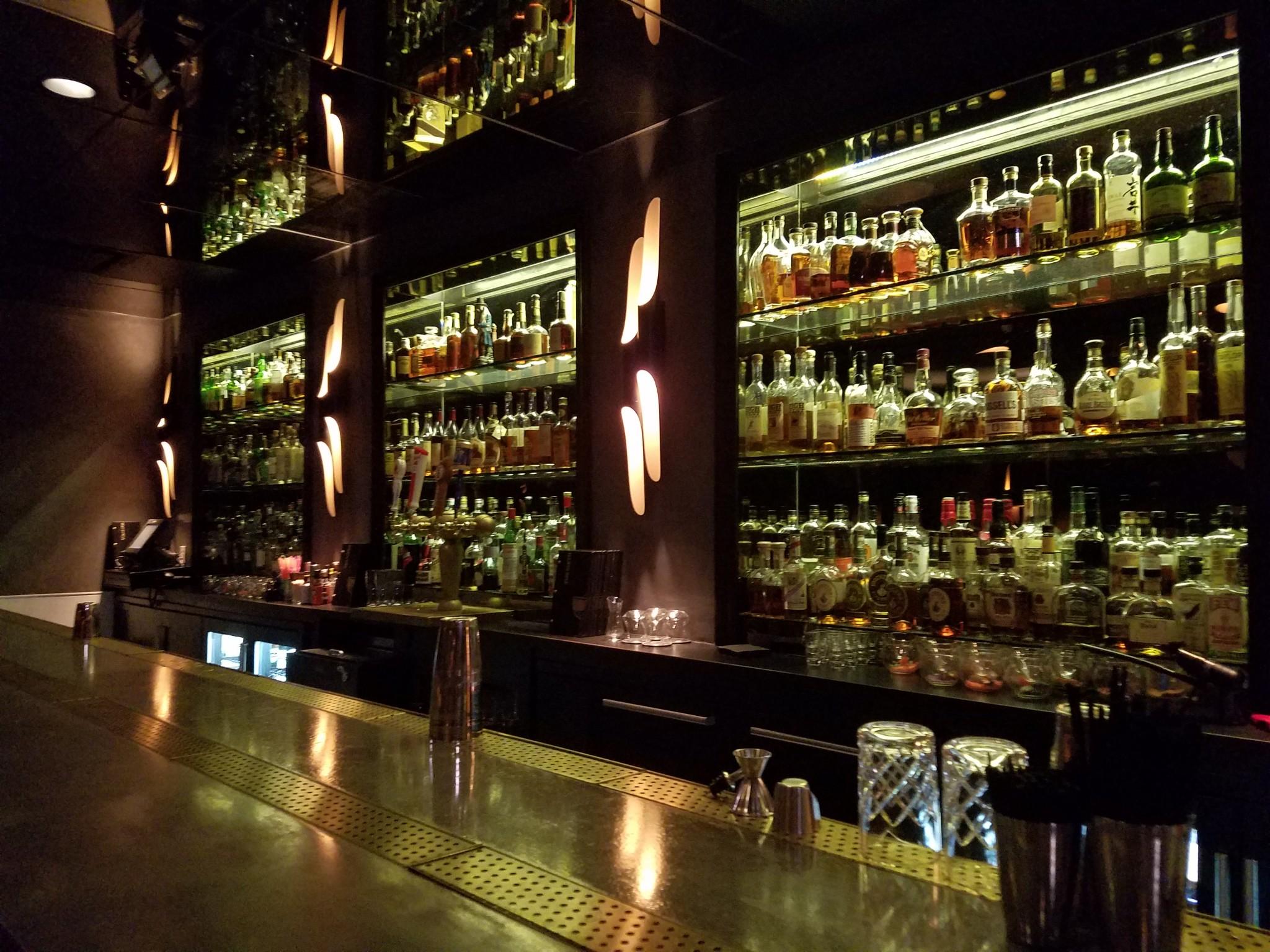 The bar at The Sixth