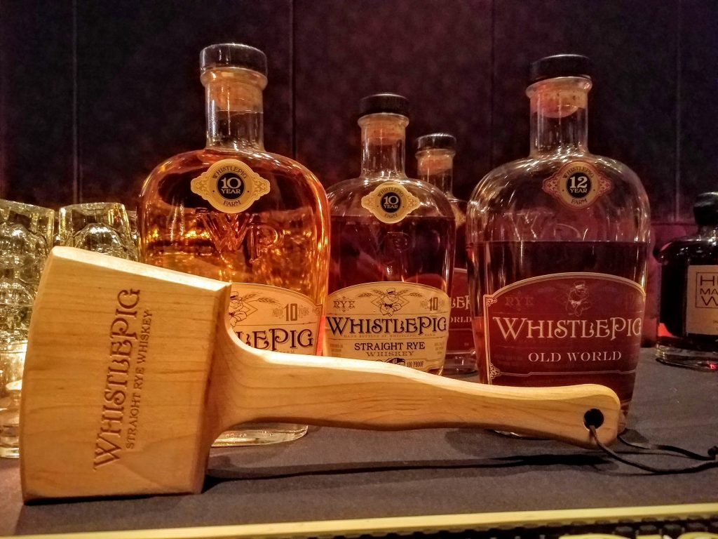 WhistlePig and mallet