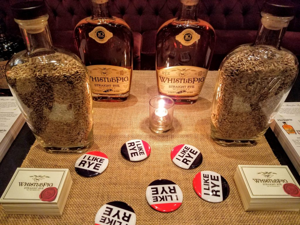 WhistlePig and buttons