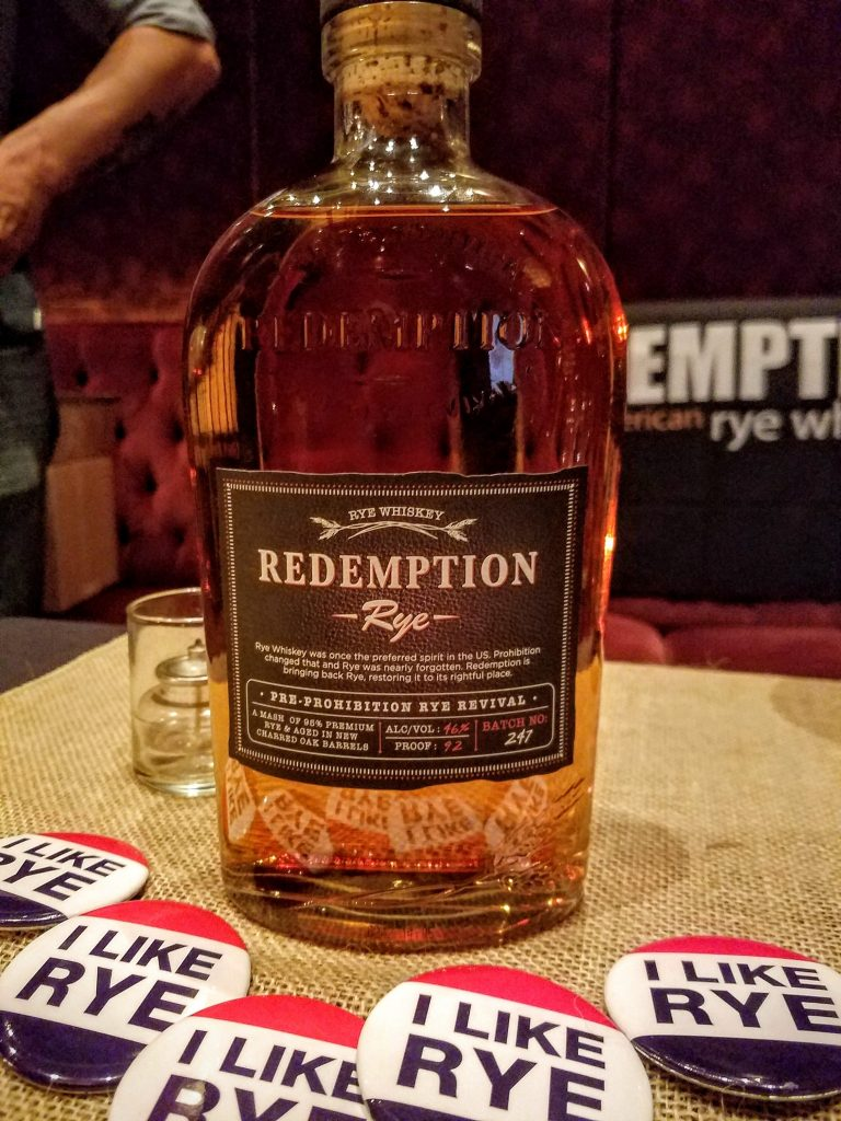 Redemption's new bottle design