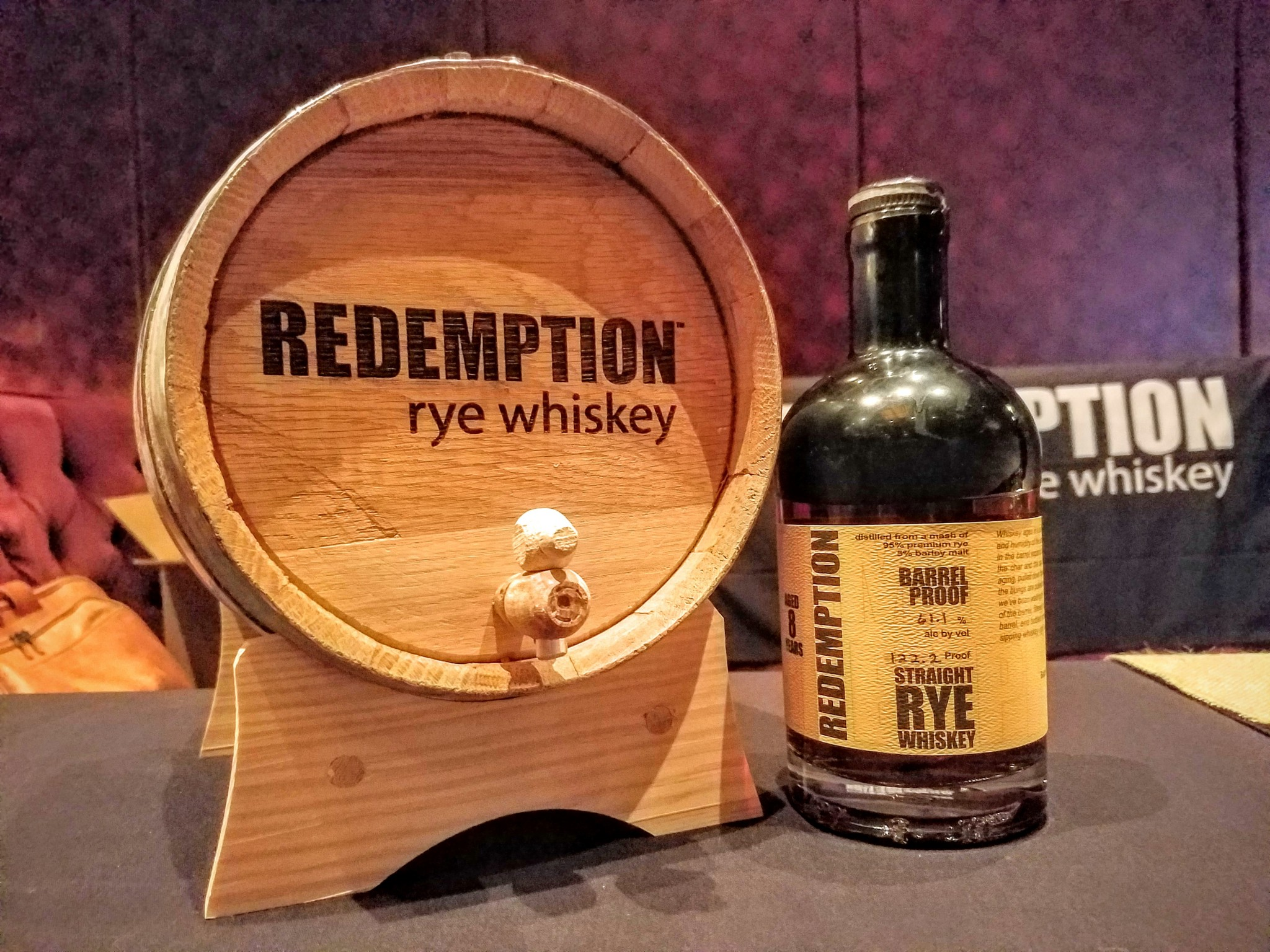 Redemption 8 year old Rye