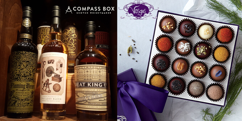 Chocolate Whisky Tasting Experience