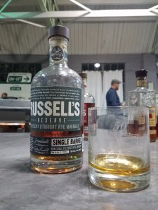 Bourbon Crusaders private selection of Russell's Reserve Rye
