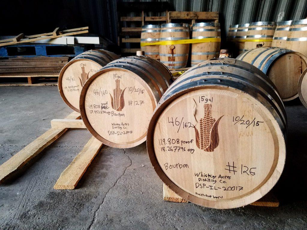 Sampling single barrels with Hy-Vee John