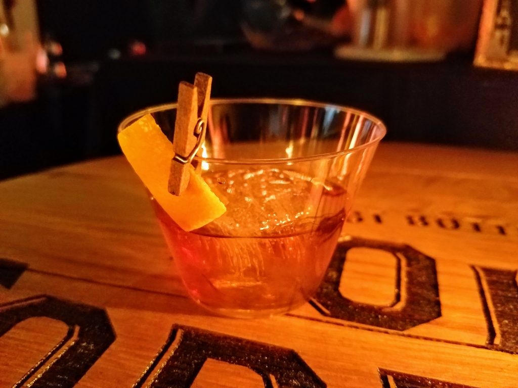 'The (fo)rever old' made with Old Forester 1897.  Cocktail by Ergys Dizdari.