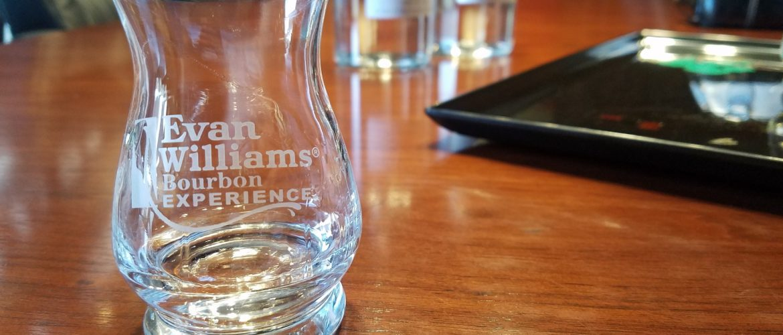 Custom new make at the Evan Williams Bourbon Experience