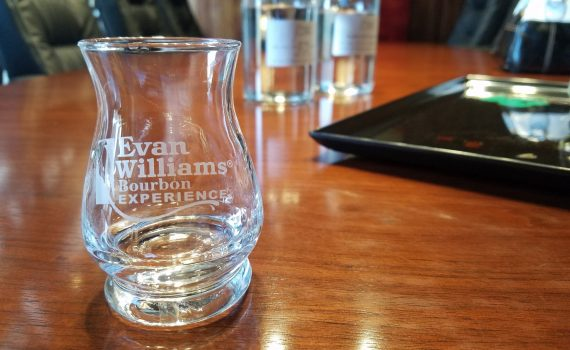Custom new make at the Evan Williams Bourbon Experience