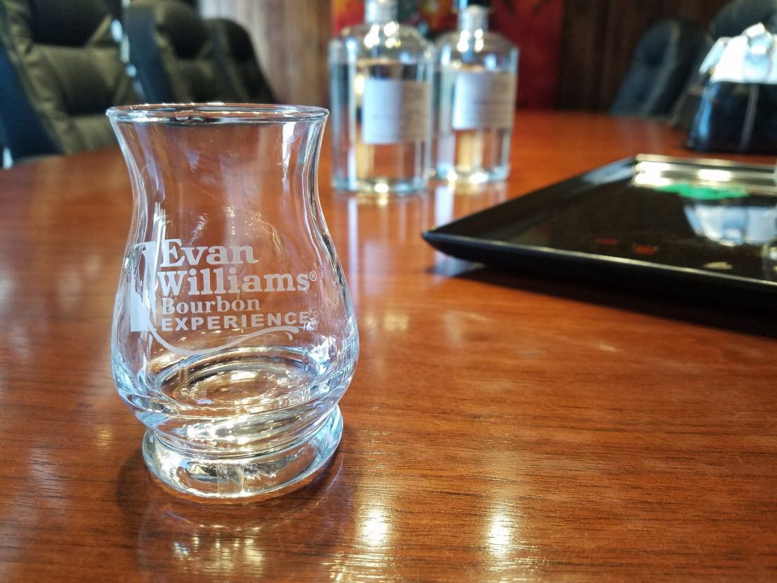 Evan Williams Custom Bourbon Tasting: New Make