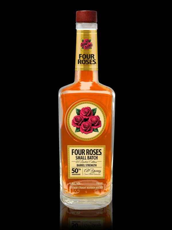Limited Edition Bourbon Celebrates Four Roses'  Brand Ambassador & Bourbon Legend Al Young