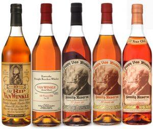 Pappy Van Winkle Lineup