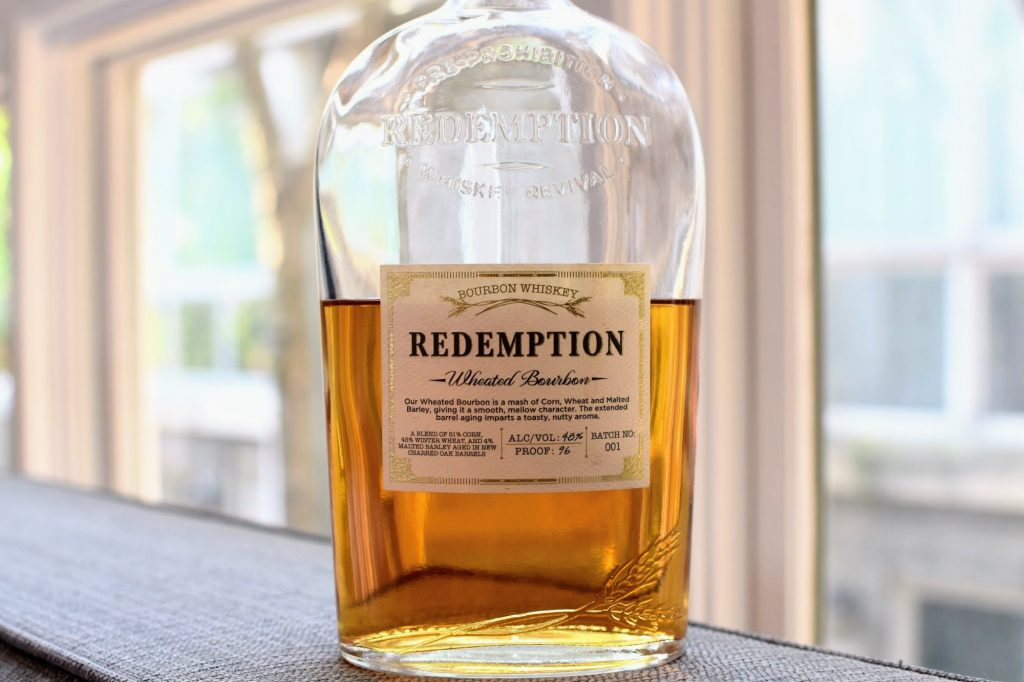 The new Redemption Wheated Bourbon
