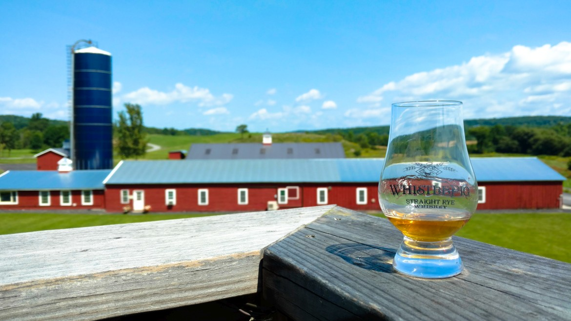 A Visit To WhistlePig Farm Distillery