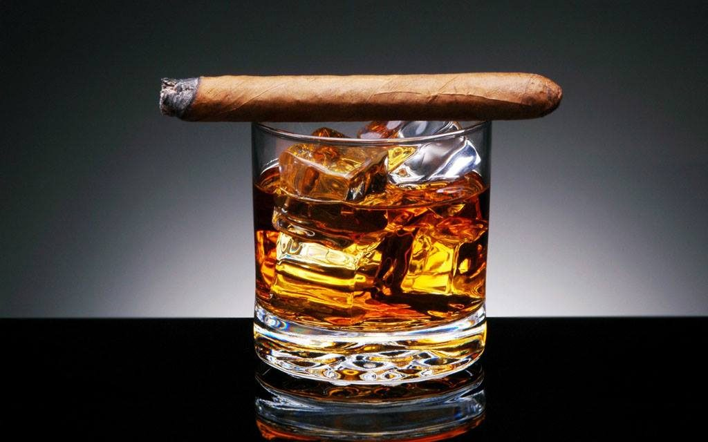 cigars-bourbon