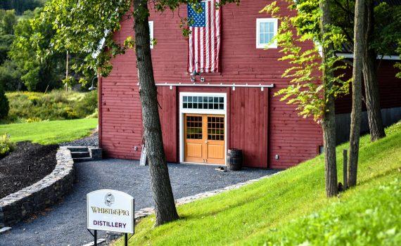 Distillery barn