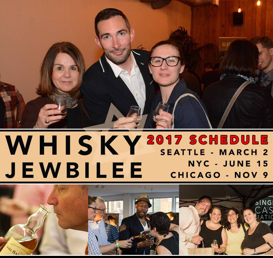 Whisky Jewbilee Chicago - Coming Thursday November 9th