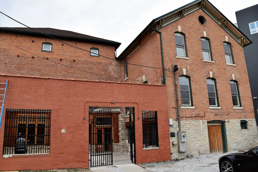 The original Soltis brewery during prohibition, revived to today's Soltis Family Spirits Distillery