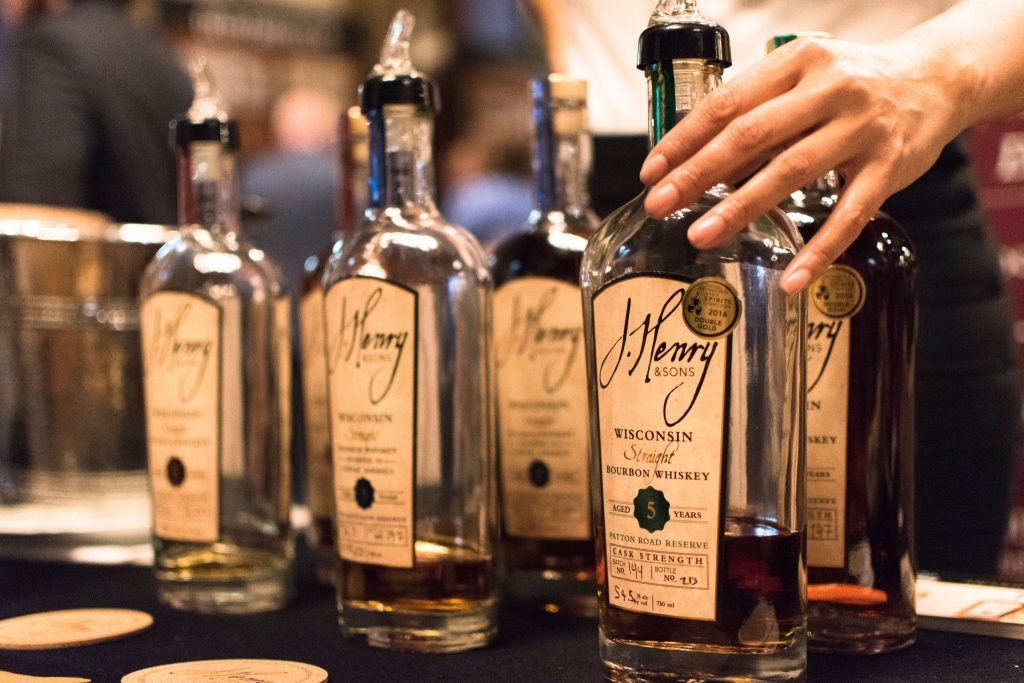 J Henry and Sons produces award winning bourbon on their farm in Wisconsin