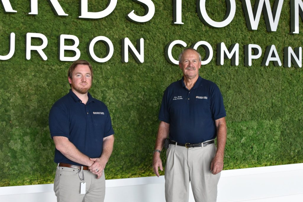 John Hargrove, Executive Director of Operations (left) and Steve Nally, Master Distiller (right)