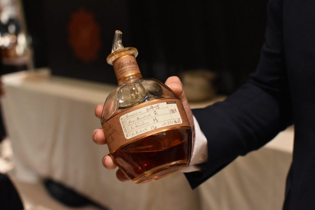 The one and only Blanton's Straight From The Barrel