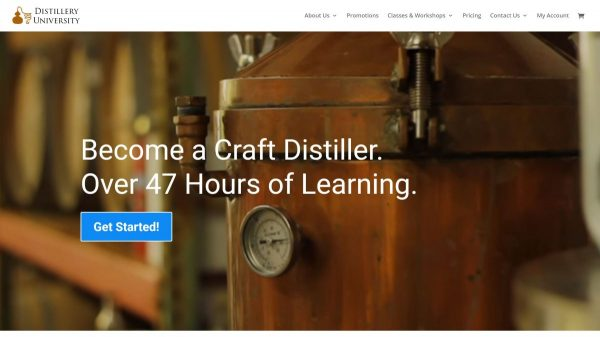 Distillery University website