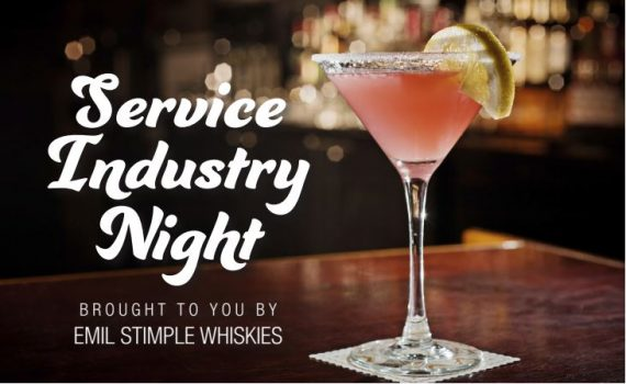 Service Industry Night at Frankfort Spirits