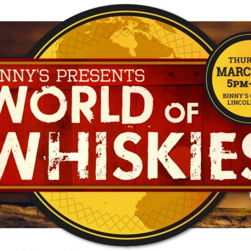 BINNY'S PRESENTS WORLD OF WHISKIES
