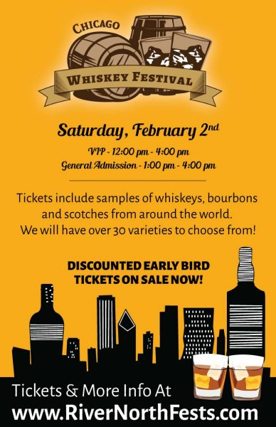 Chicago Whiskey Festival Feb 2019