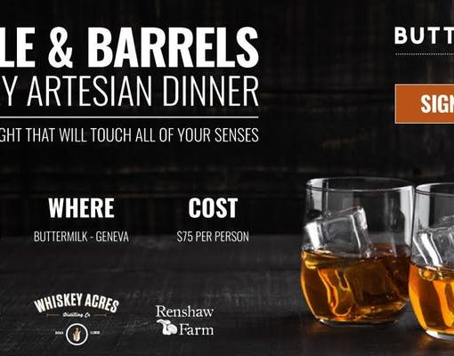 Whiskey Artisan Dinner