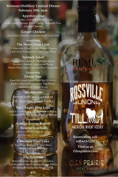 Midwest Distillery Dinner