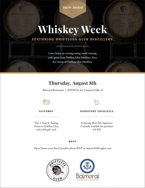 DG - Eblast - Whiskey Week