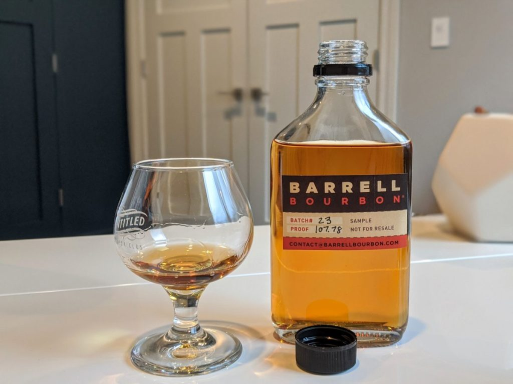 Barrell Bourbon Batch 23 Tasting